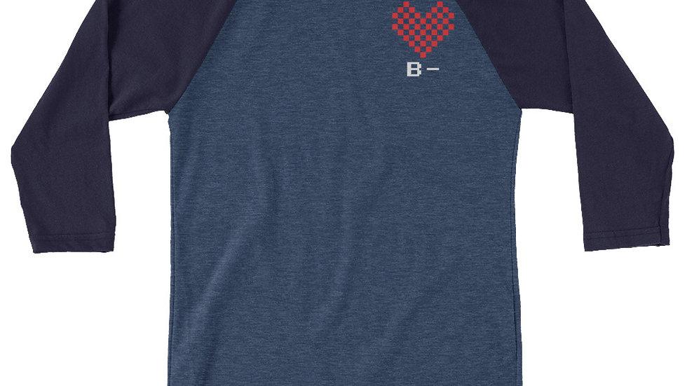 Love B- Unisex 3/4