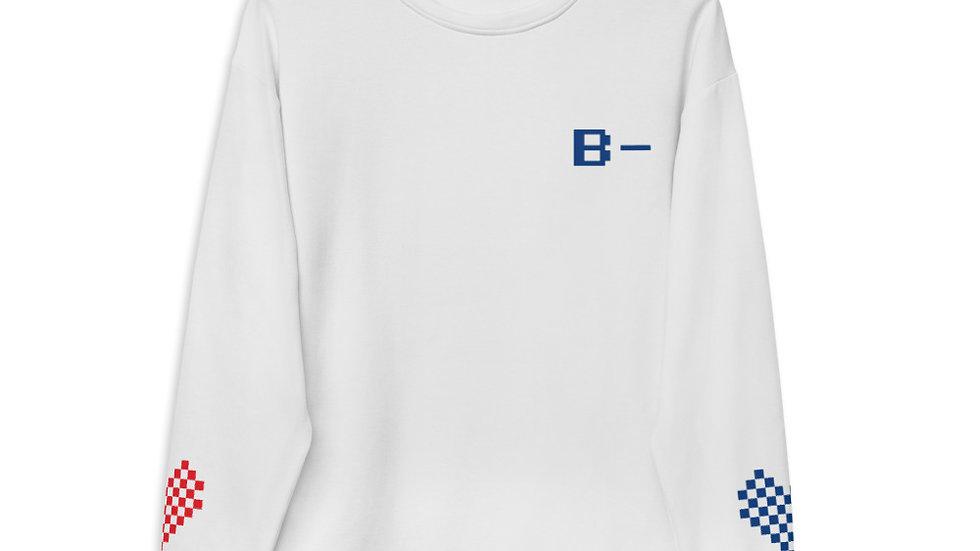 B- Give #Blood4All Unisex Sweatshirt