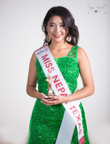 Bianca Adhikary, Miss Nepal Texas