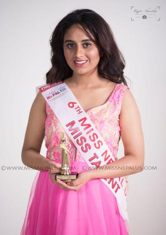 Swikriti Bhattrai, Miss Talent