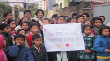 Rebuilding Nepal-Miss Nepal US 2015 Project