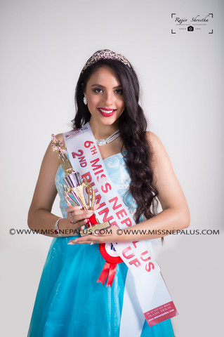 Kriti Dhungel, 2nd Runner UP