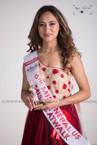 Bina Shrestha, Miss Cat Walk