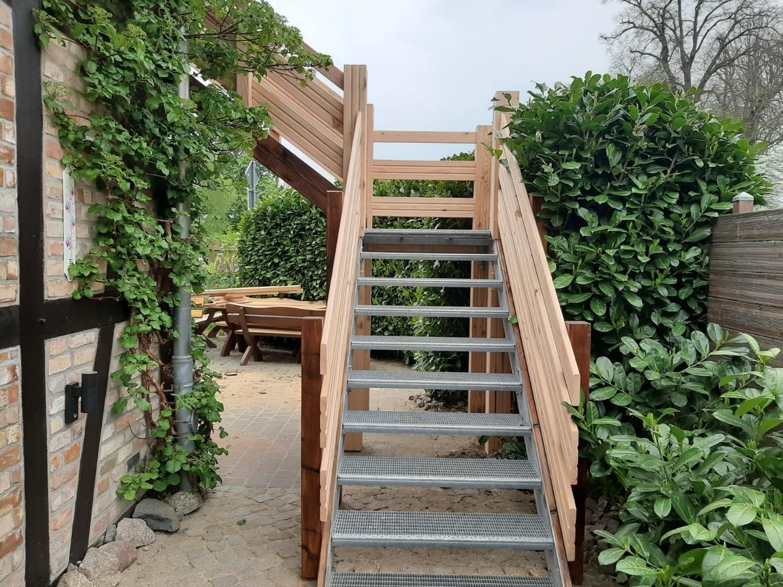 Neubau Treppe