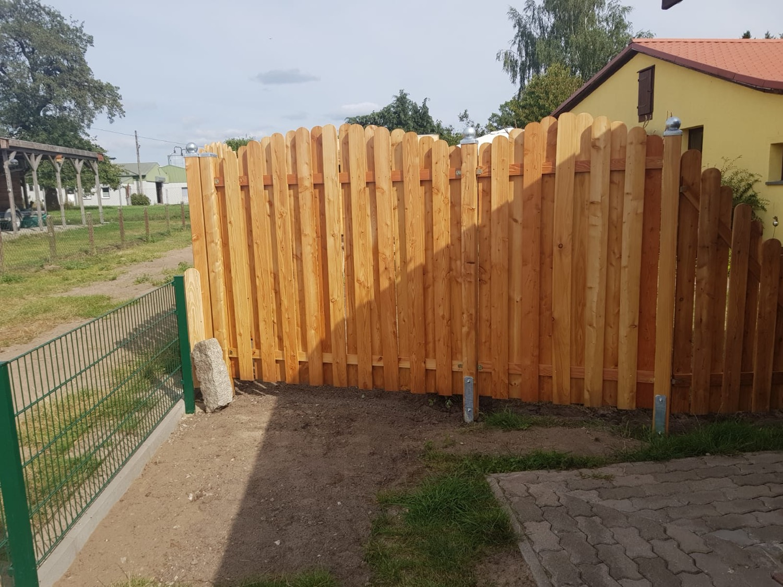 Neubau Holzzaun