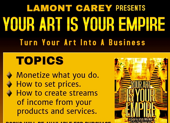 Turn Your Art Into A Business