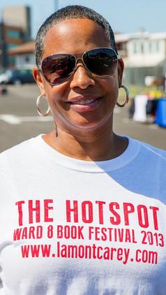 Michelle Hotspot Book Festival Event man