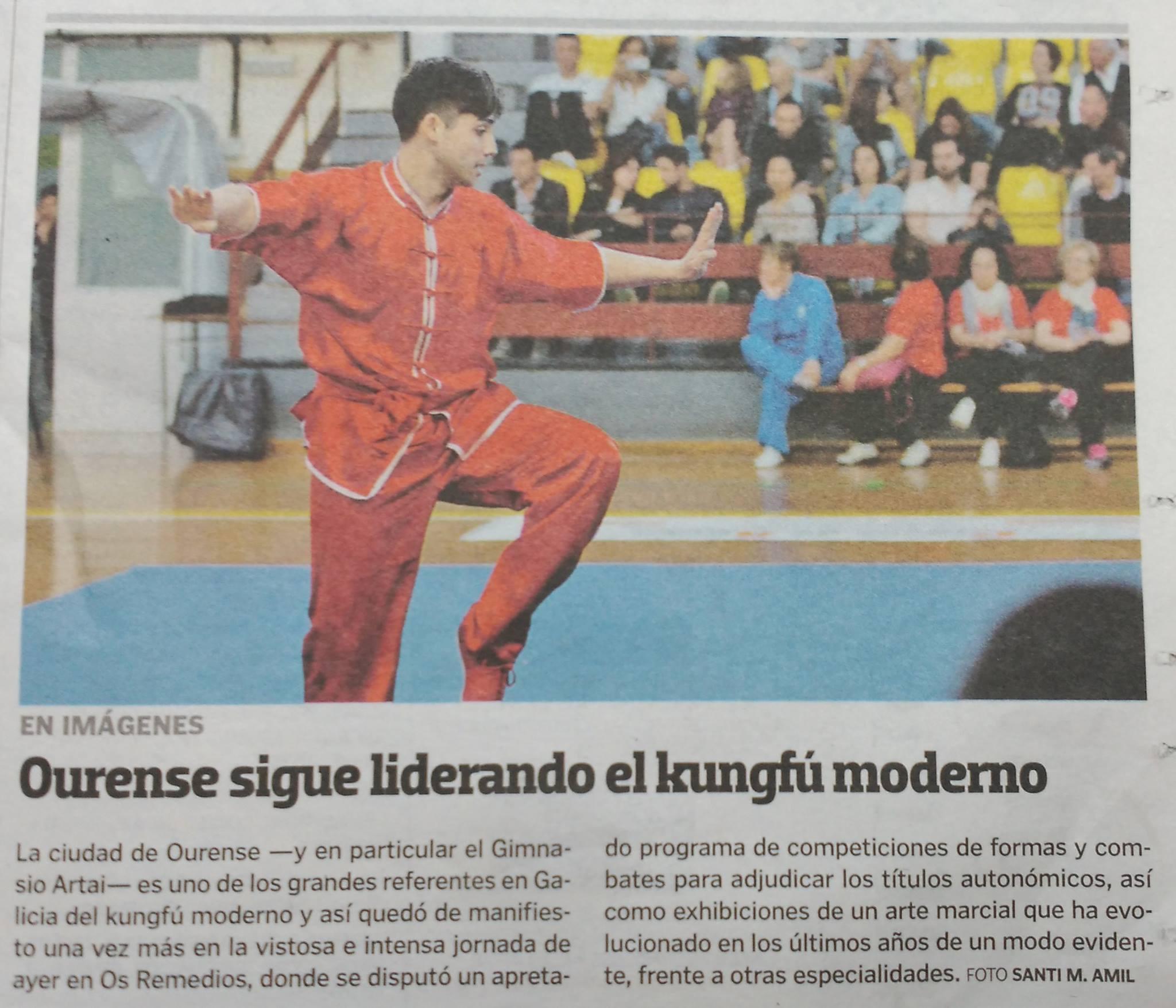 La Voz de Galicia  16/04/2017