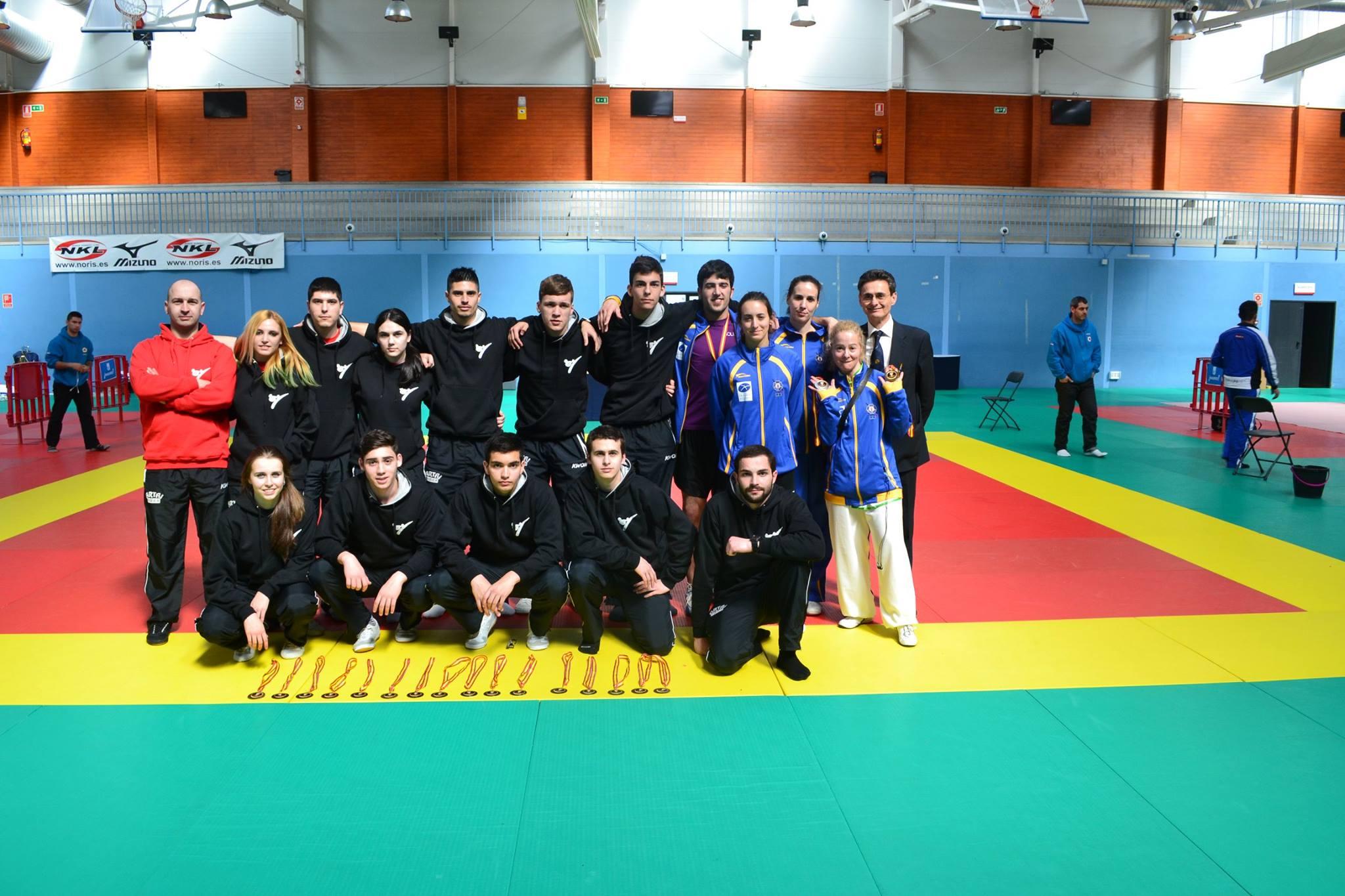 Cpto de España de Wushu 2014