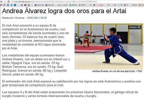 WEB Faro de Vigo 19/02/14