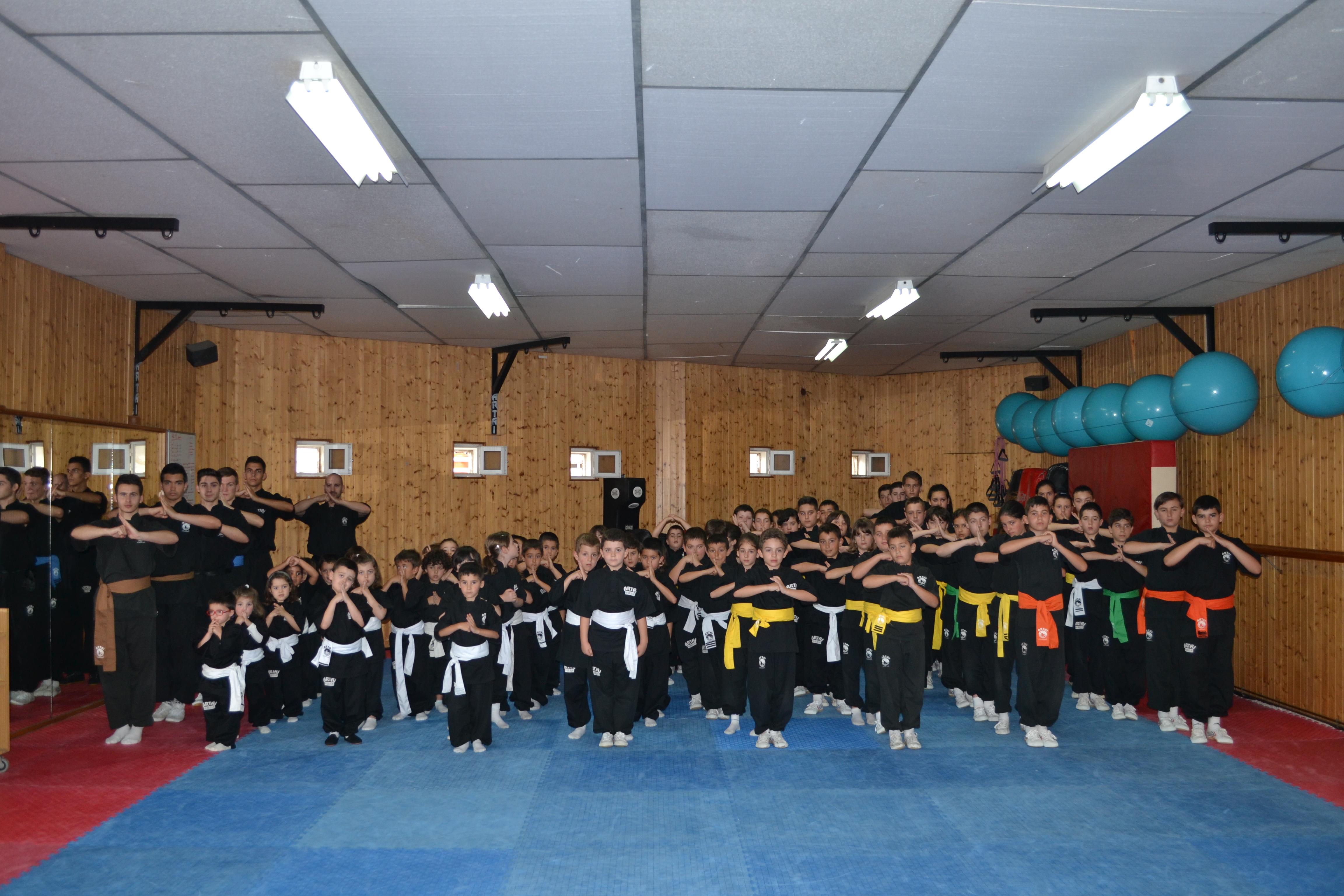 Examen Kungfu infantil 28/06/14