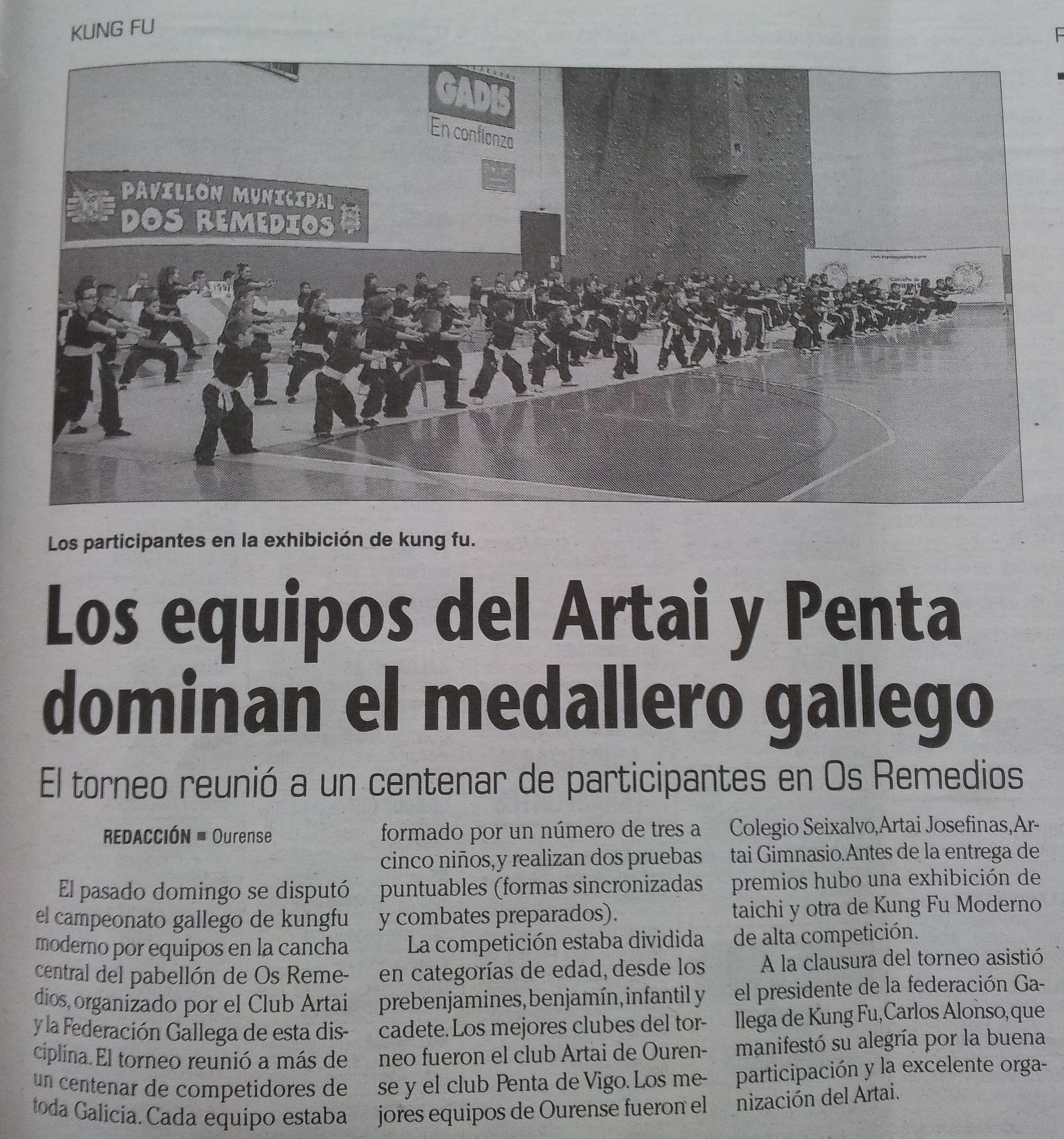 Faro de Vigo 24/06/14