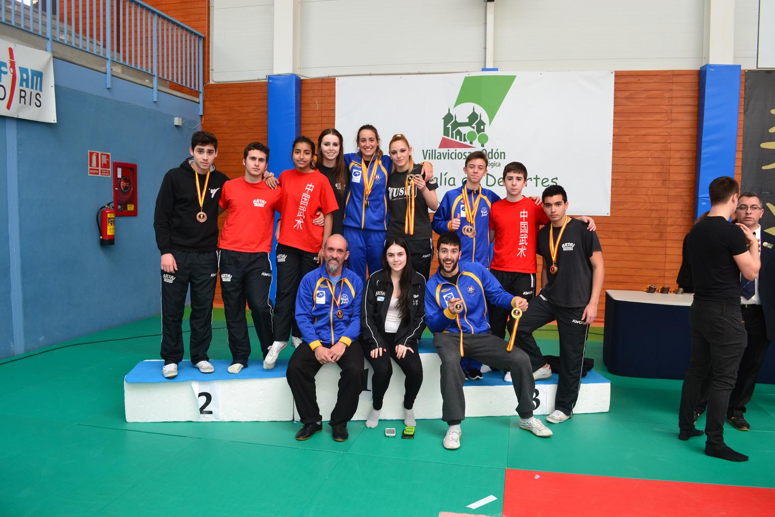 Cpto. España Wushu 2015