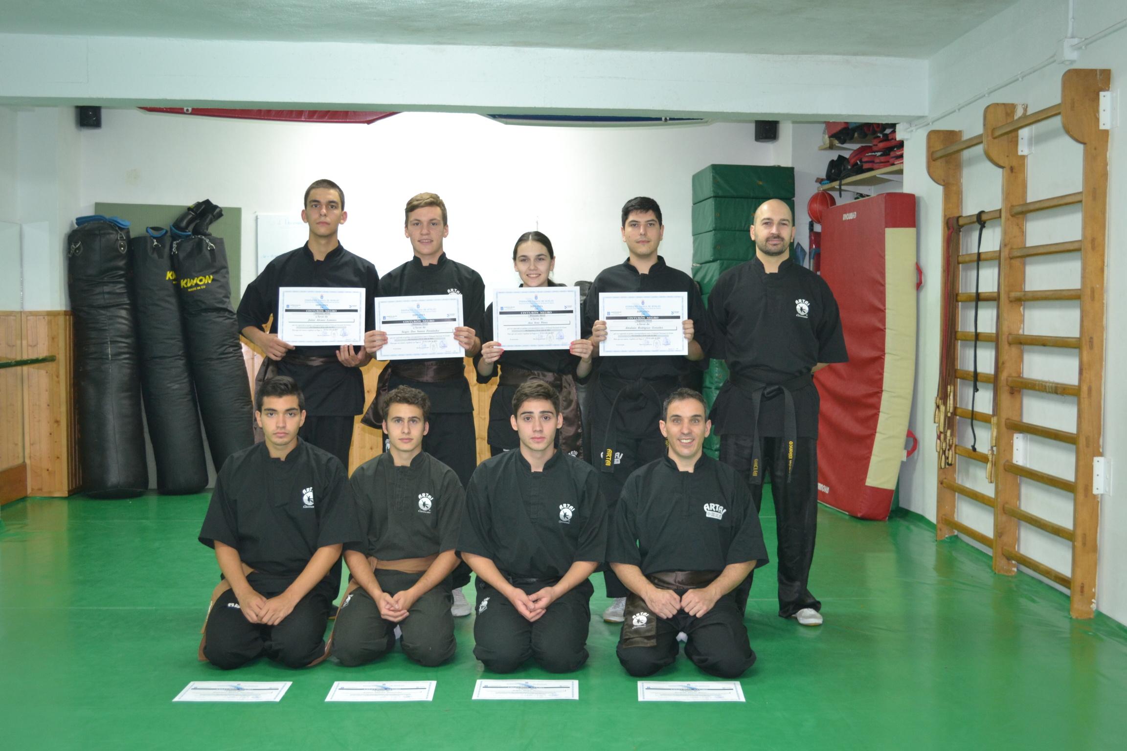 Entrega de Diplomas Cinturón Negro