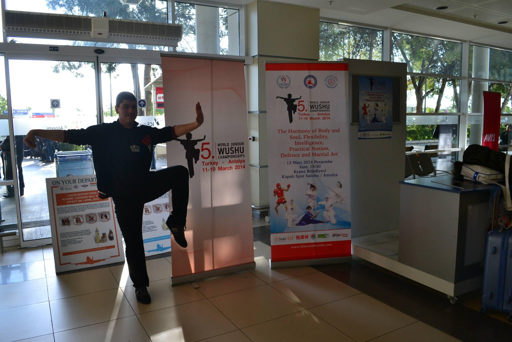 Curso Internacional de Wushu,Turquia
