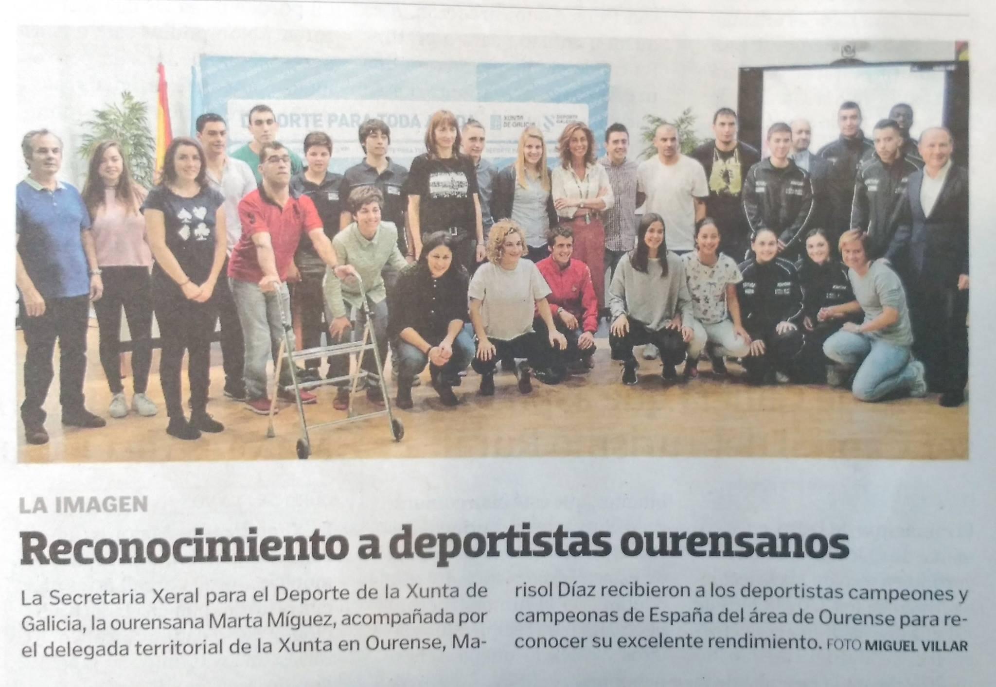 La Voz de Galicia  21/04/2017
