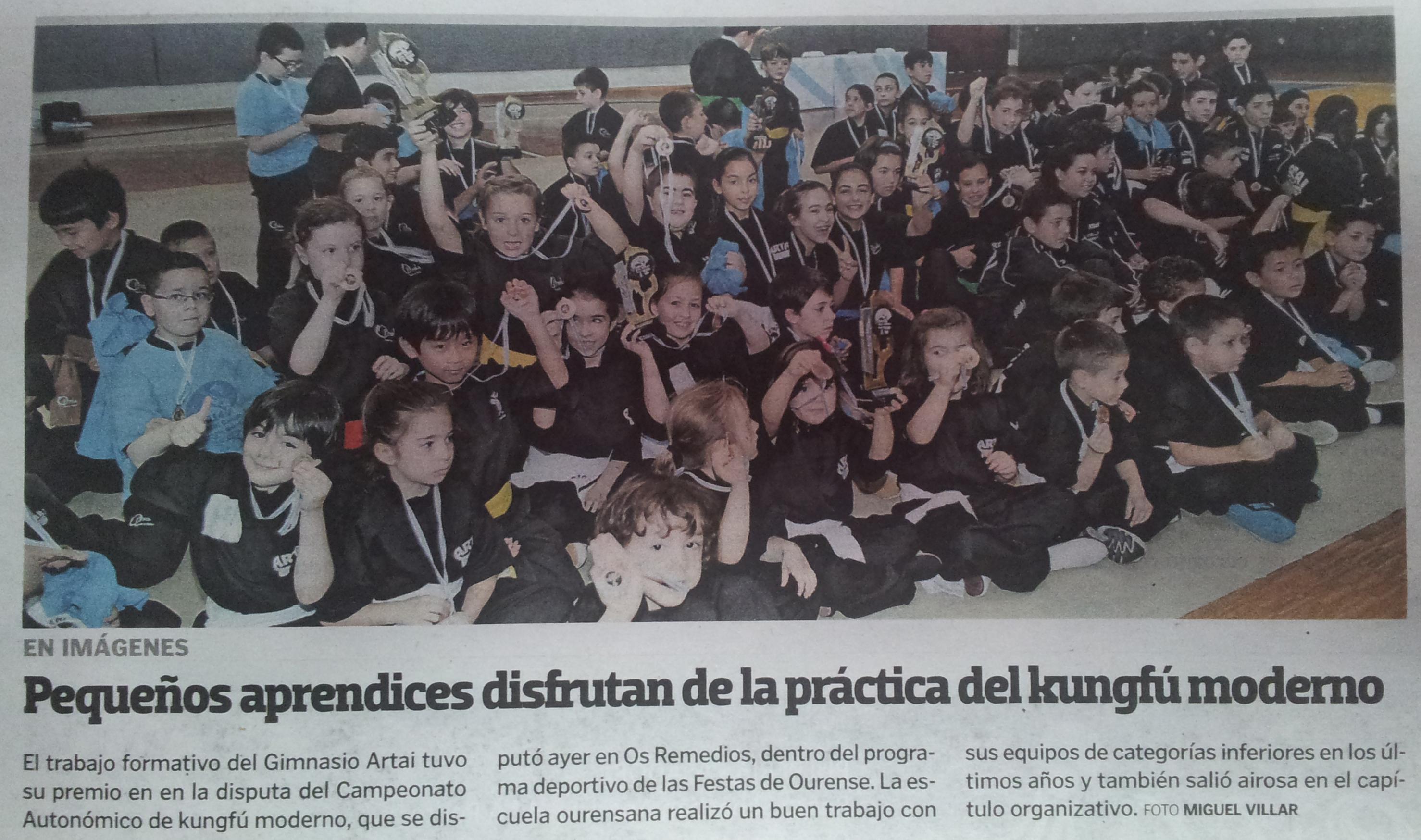 La Voz de Galicia 24/06/14