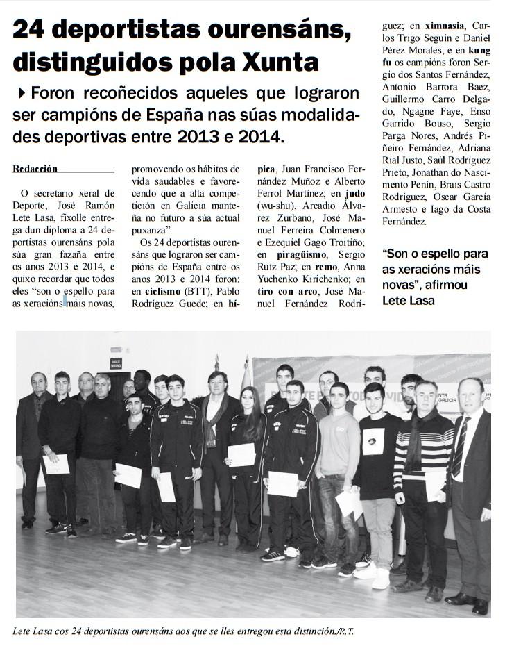 Barrios Deportivos 13/03/2015