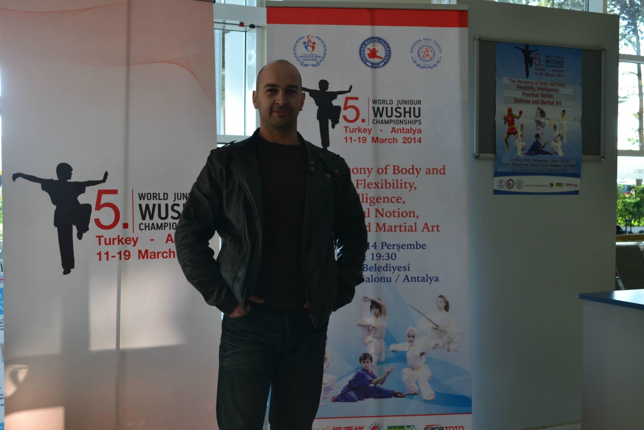 Curso Internacional de Wushu,Turquía