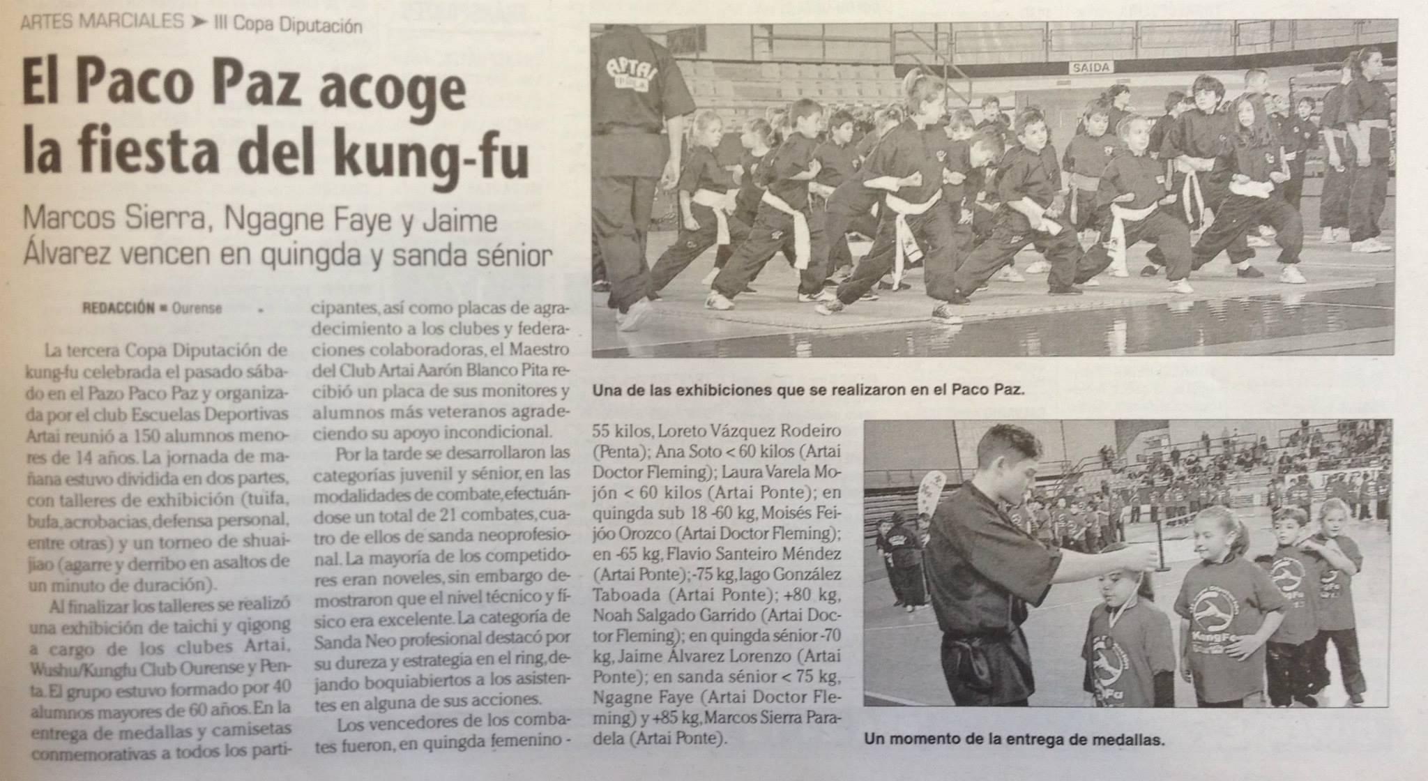 Faro de Vigo 25 noviembre 2014