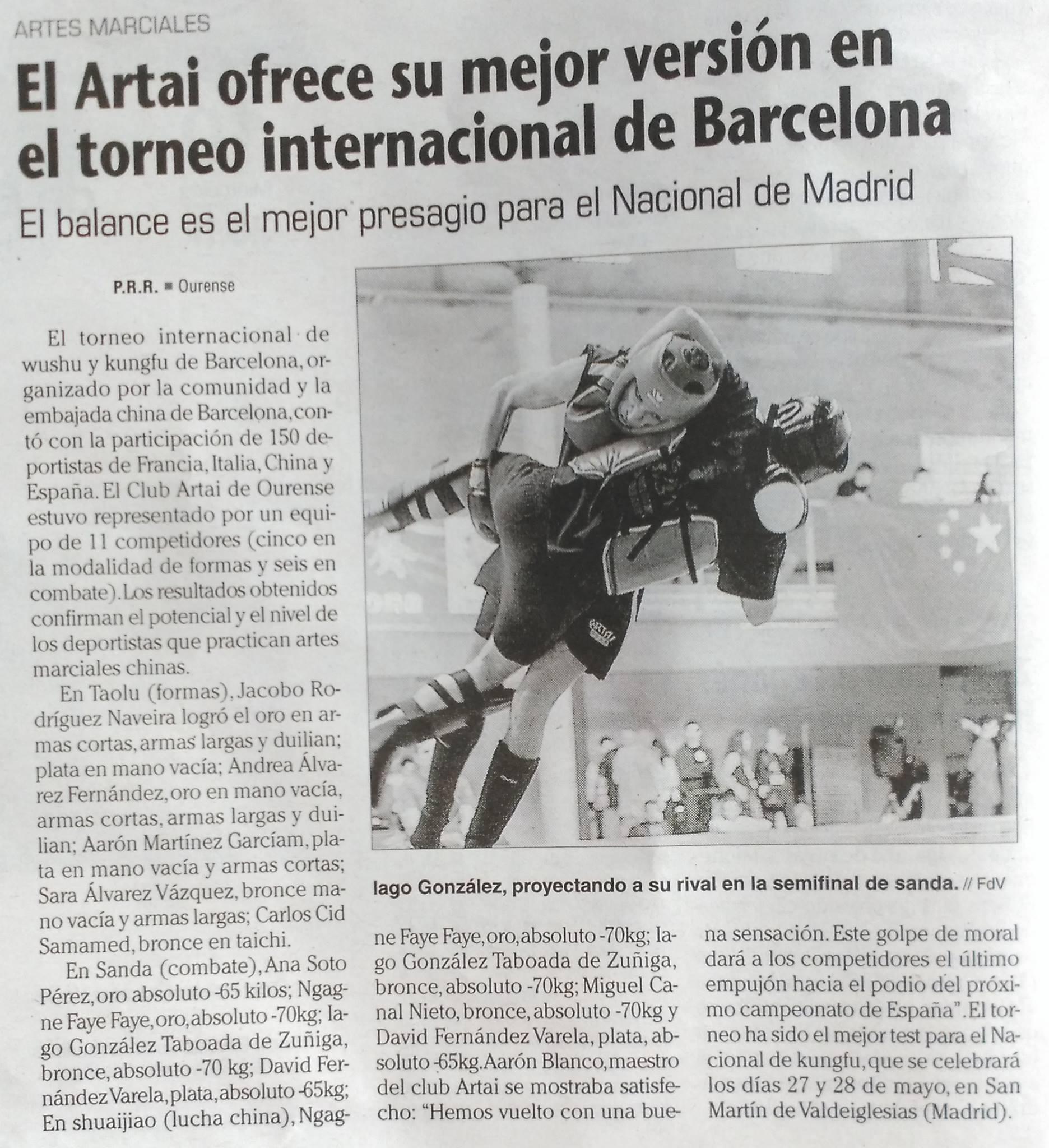 Faro de Vigo  9/05/2017