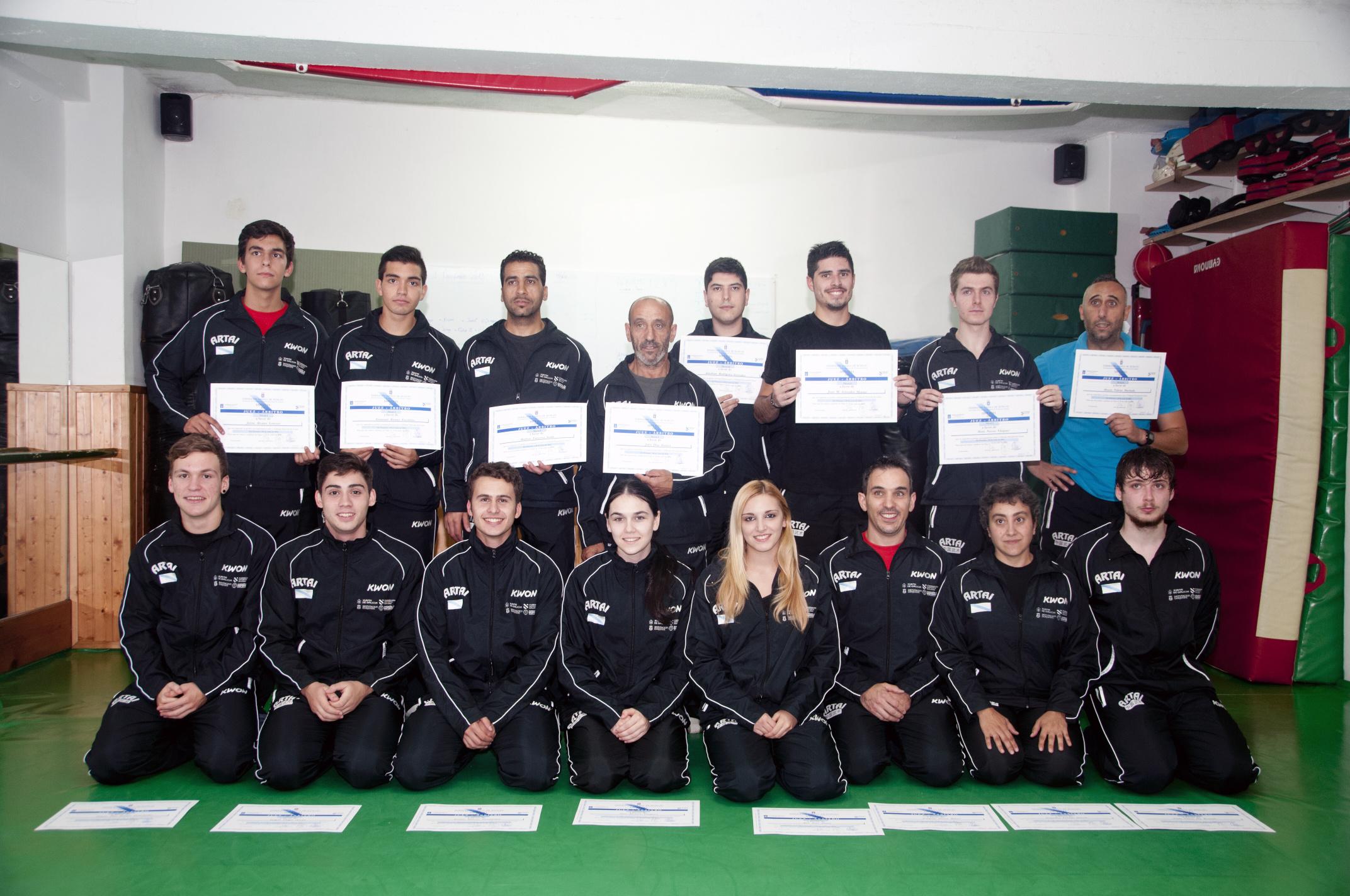 Entrega Diplomas Arbitros 12/09/14