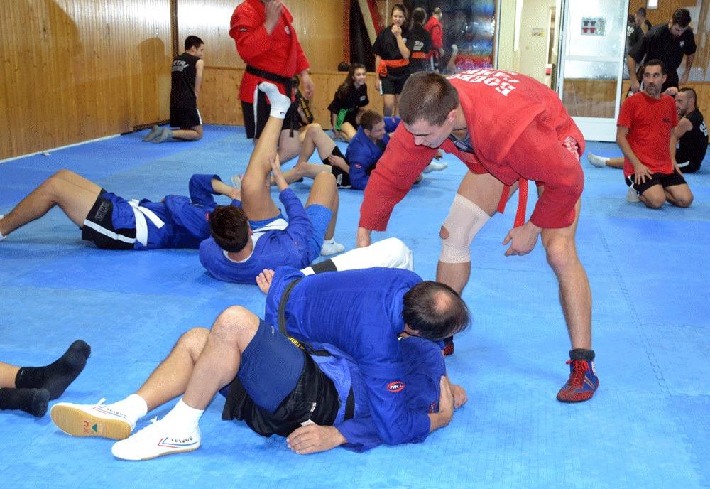 Curso Internacional de Sambo Combat