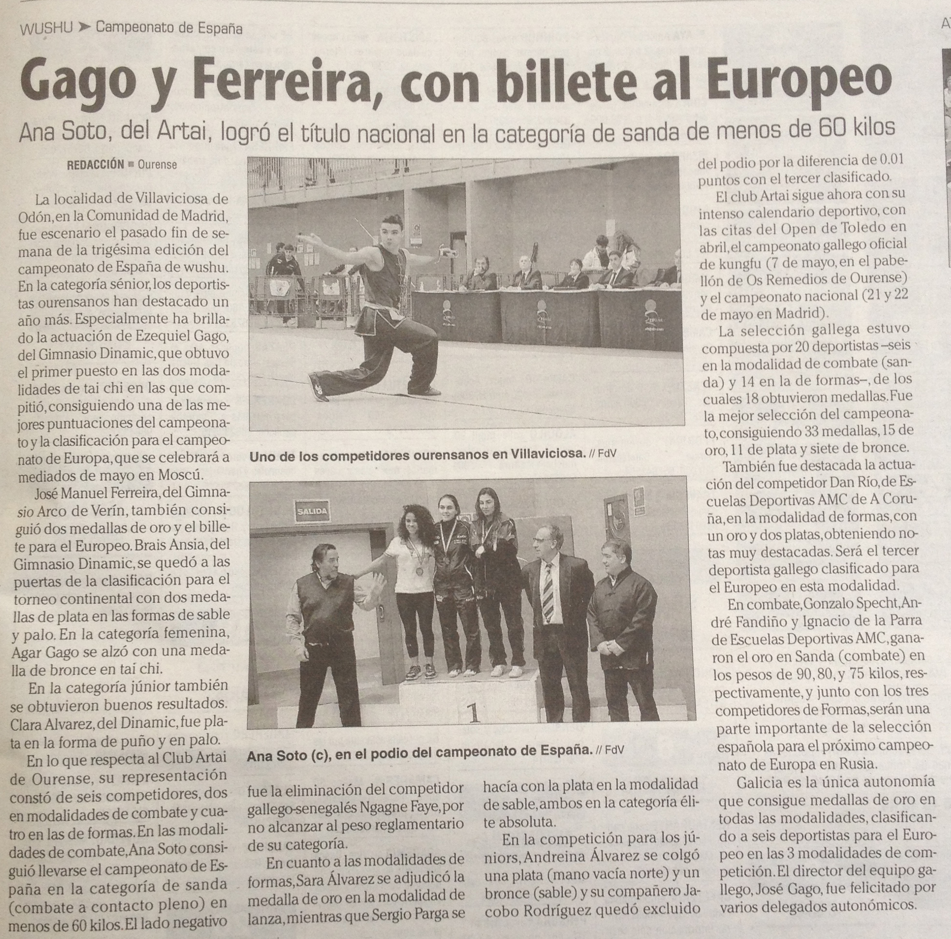 Faro de Vigo 01/03/2016