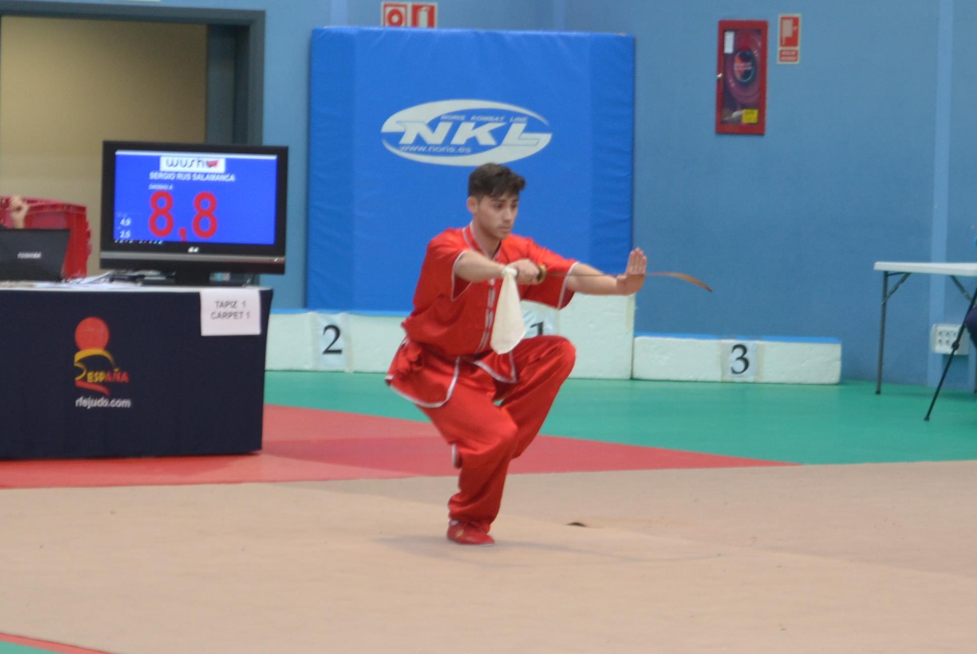 XXX campeonato de España de Wushu