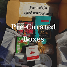 Self care pre-curated boxes