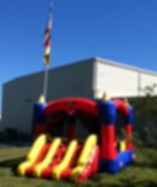 Magic Castle 15x15 w/Slide #400 - Bounce House