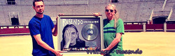 Warner Music Spain Disco de platino