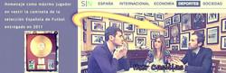 Iker Casillas Disco de oro