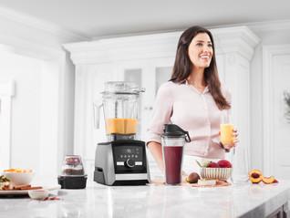 Ascent er årets nyhet fra Vitamix -  nå med trådløs teknologi. Klar for levering i Januar 2018.