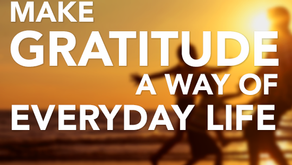 Sharing a Personal Lesson in Gratitude