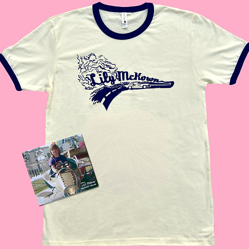 Backseat Driver T-Shirt & CD Bundle