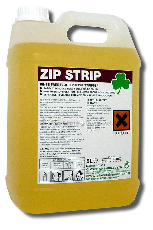 Clover Zip Strip Floor Polish Remover