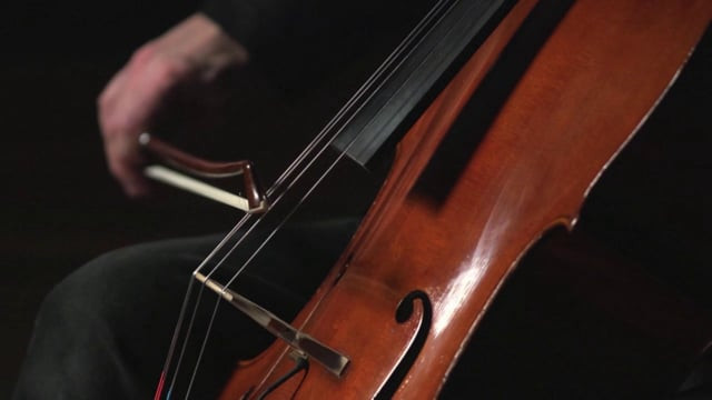 Eugene Friesen | Sarabande in C Minor for cello and looper