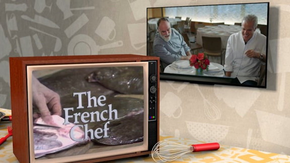Dishing with Julia Child - A Fish Story