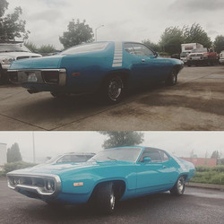#72roadrunner #original383 #4speed #metrotransmission