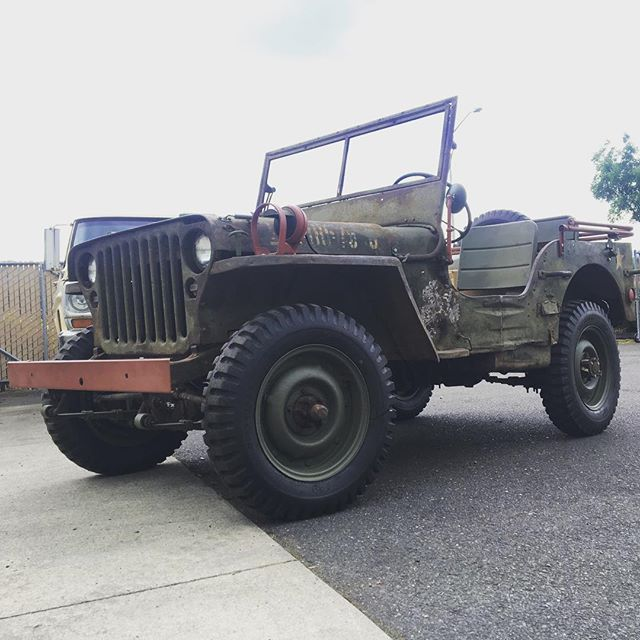 #44willys #militaryjeep #metrotransmission