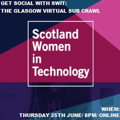 Get Social with SWiT – The Glasgow Virtual Sub Crawl