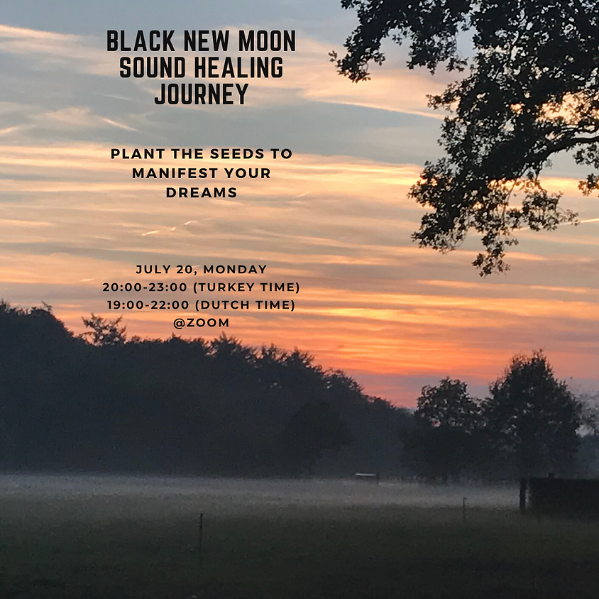 BLACK NEW MOON SOUND HEALING GROUP THERAPY