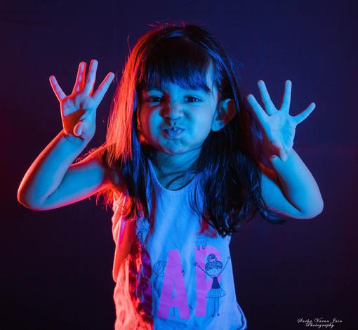 kids photography toddler indoor light fun blue