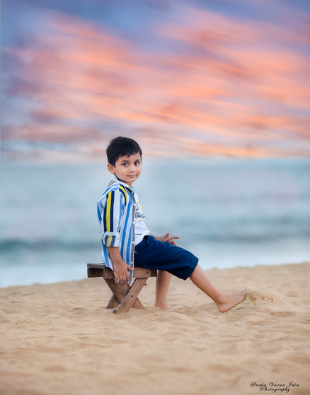 kids photography toddler smile laugh sunset beach boy handsome portrait