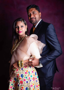 fashion photography pose style model portrait club red pink couple ethnic indian twist