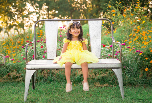 kids photography toddler smile laugh sunset sunflower dahlia garden