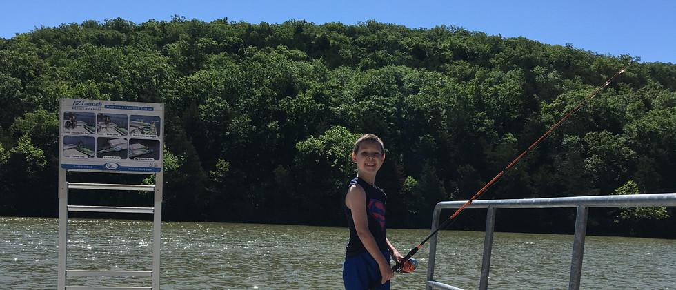 fishing in Arkansas