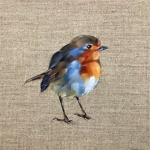 Our Robin Redbreast card & envelope