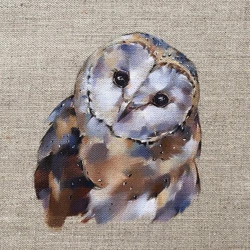Barn Owl card & envelope